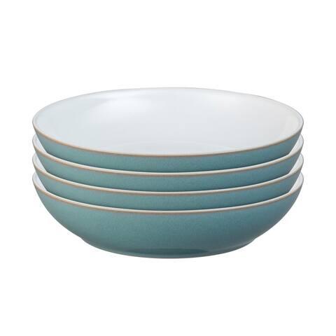 Denby Azure Set of 4 Pasta Bowls