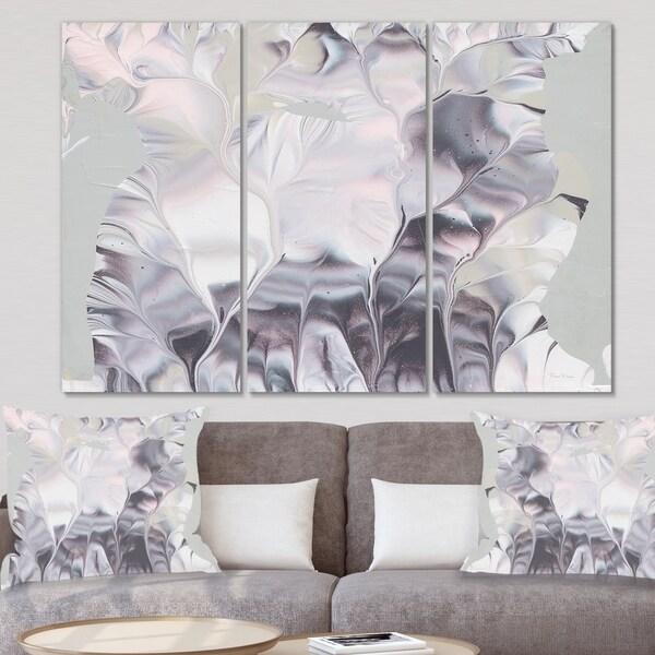 Designart 'Light and Shadow I' Modern Farmhouse Canvas Wall Art