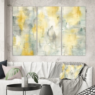 Designart 'Summer Shower' Traditional Gallery-wrapped Canvas