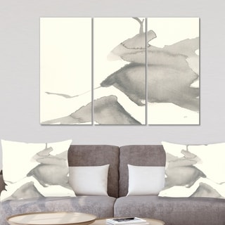 Designart 'minimal geometric Zen V' Transitional Canvas Art