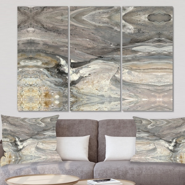 Designart 'Natural earth tone' Modern Canvas Wall Art