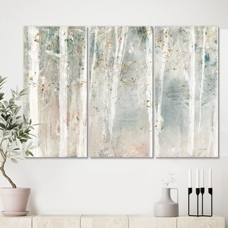 Designart 'A Woodland Walk into the Forest VII' Modern Farmhouse Canvas Art