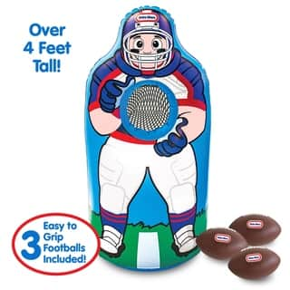 Little Tikes Jumbo Inflatable Football Trainer - Over 4 Feet Tall!
