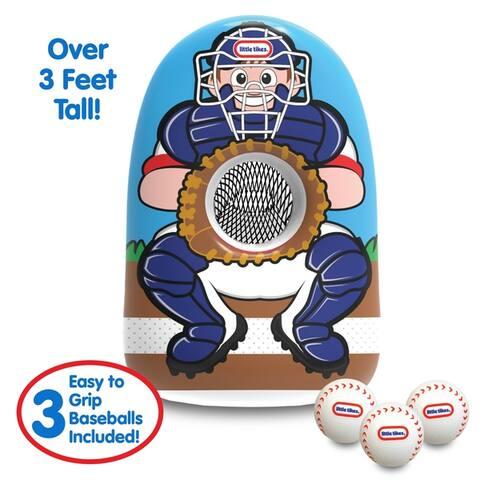 Little Tikes Jumbo Inflatable Baseball Trainer - Over 3 Feet Tall!