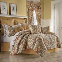 Five Queens Court August 4 Piece Jacobean Comforter Set - Multi