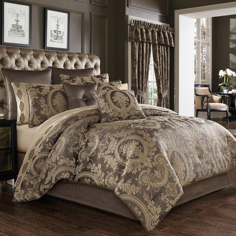 Gracewood Hollow Lisako 4-piece Luxury Comforter Set