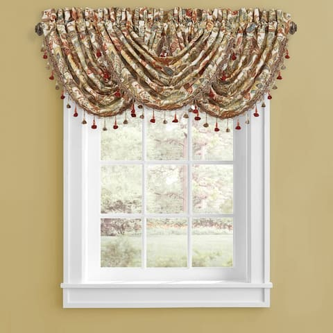 Five Queens Court August Window Waterfall Valance