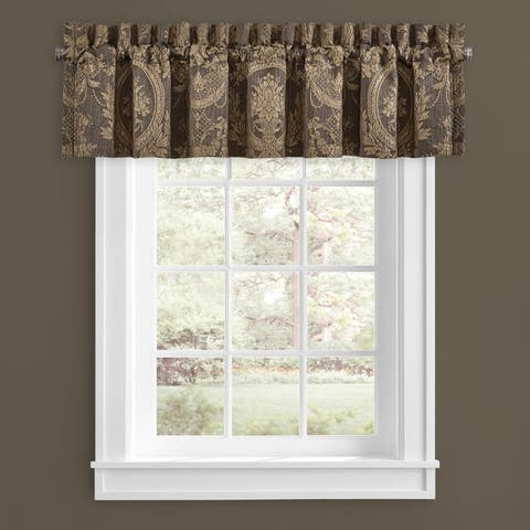 Five Queens Court Neapolitan Window Straight Valance
