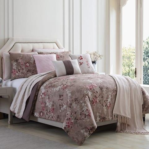 Modern Threads Chloe 10-Piece Comforter and Coverlet Set
