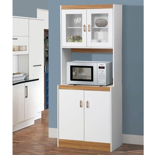 Shop Home Source Aaronsburg Kitchen Organization Microwave ...