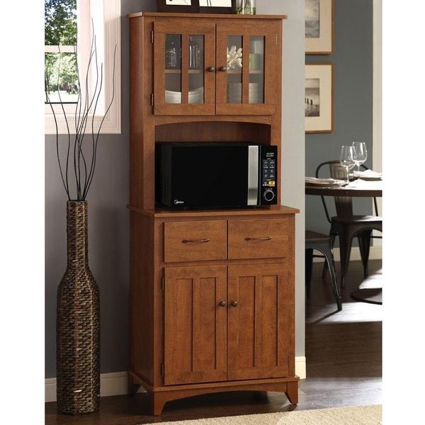 Shop Lewisburg Kitchen Organization Microwave Cabinet ...