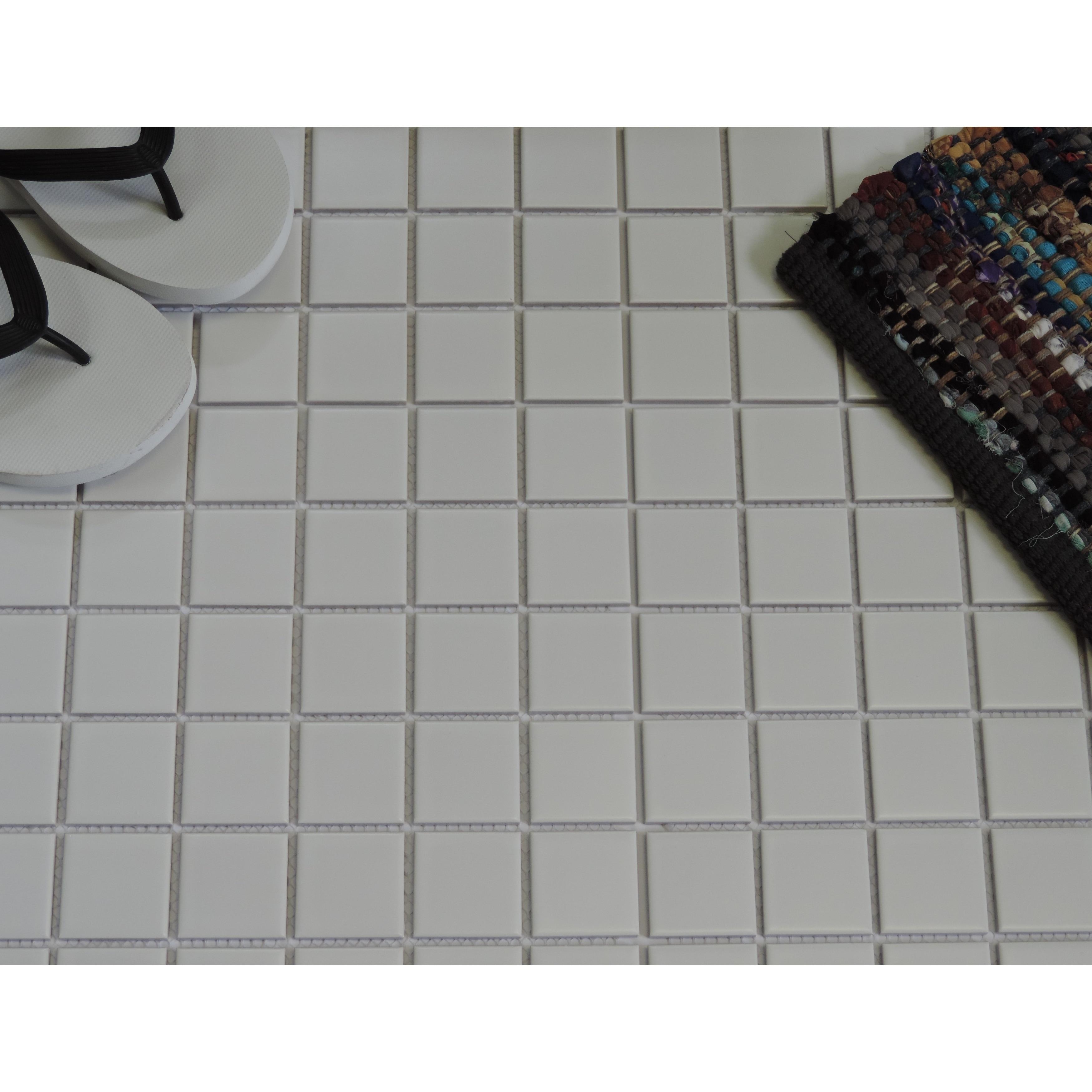 Glazed Porcelain Mosaic Tile Sheet