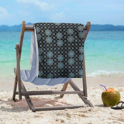 Ombre Lattice Beach Towel - 36 x 72