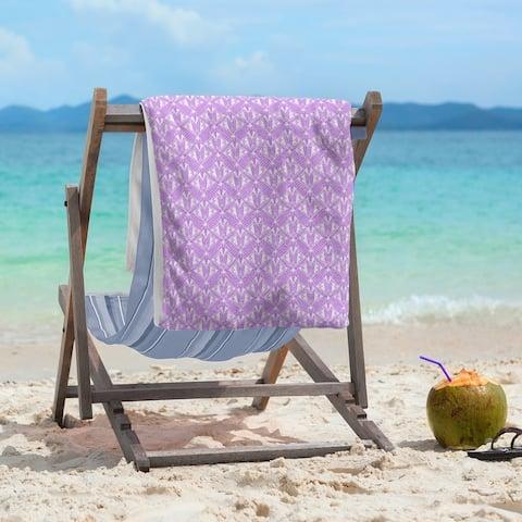 Alternate Art Deco Beach Towel - 36 x 72