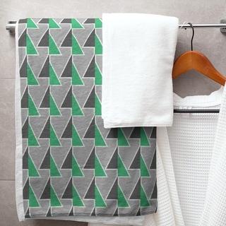 Color Accent Shifted Arrows Bath Towel - 30 x 60