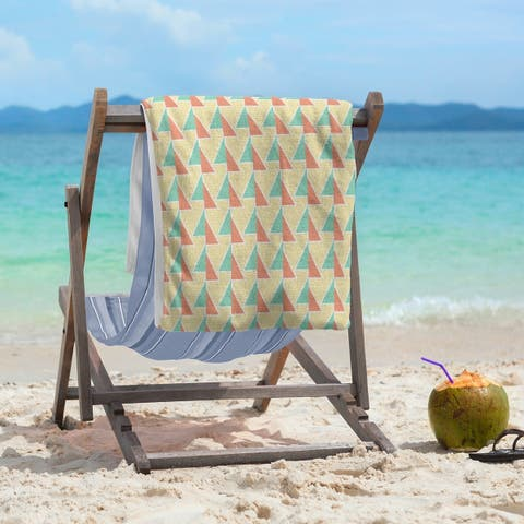 Shifted Arrows Pattern Beach Towel - 36 x 72