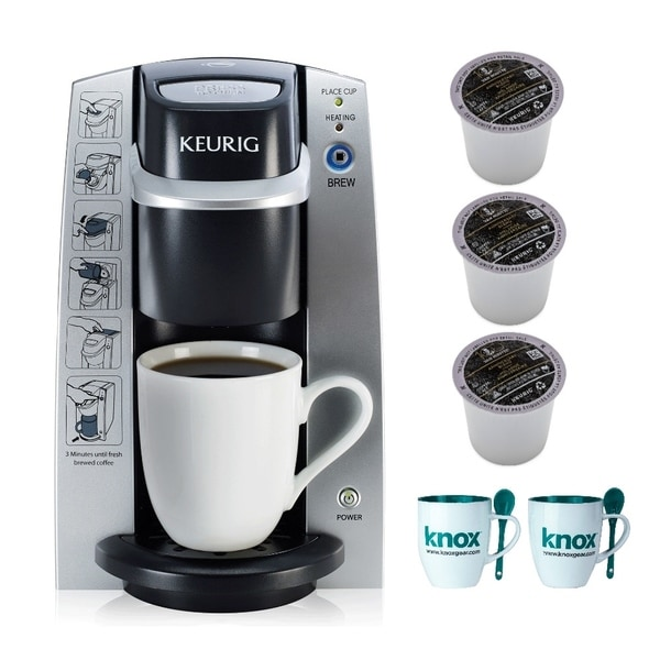 Keurig K130/B130 In-Room Brewing System with 6 K-Cups and 2 Mugs
