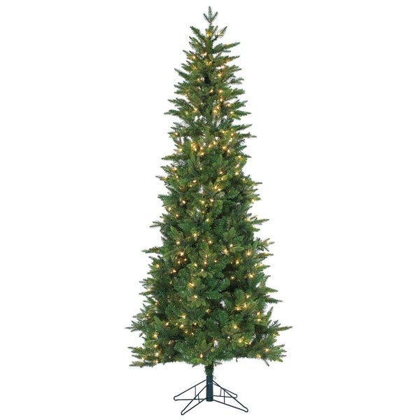 Gerson 7.5' Salem Spruce Artificial Christmas Tree with Power Pole