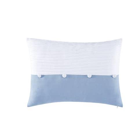 "Charisma Settee 14""x20"" Pleated Decorative Pillow"