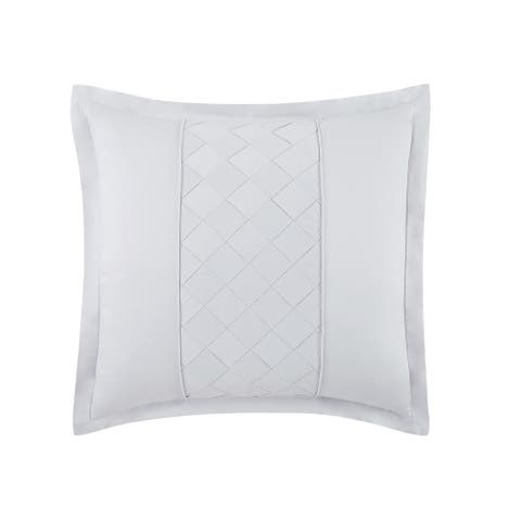 Silver Orchid Miller Embroidered Euro Sham