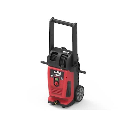CM1800 Electric Pressure Washer - Hose Reel & Turbo Nozzle