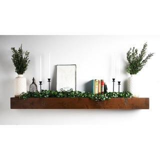 Shipwreck Wood Mantel Shelf