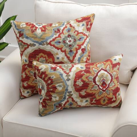 The Curated Nomad Zil Harvest Throw Pillow