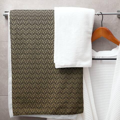 Classic Art Deco Bath Towel - 30 x 60