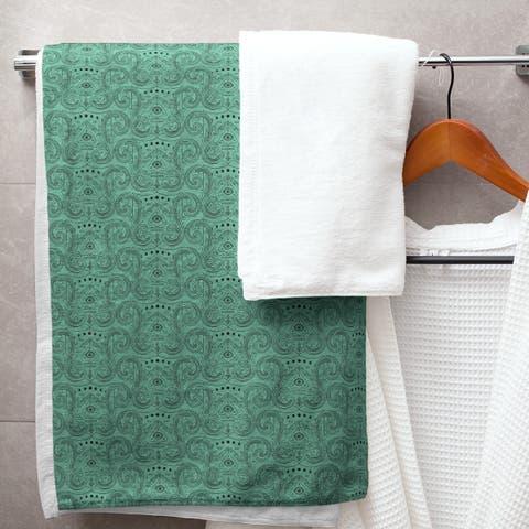 Third Eye Pattern Bath Towel - 30 x 60