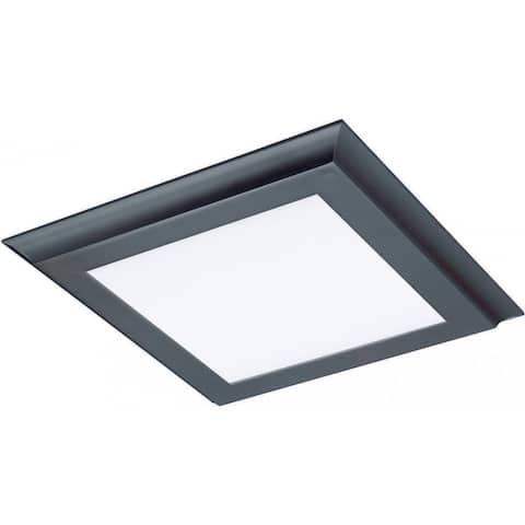 18W LED 1 x 1 Flush 3K Brz Flat Panel