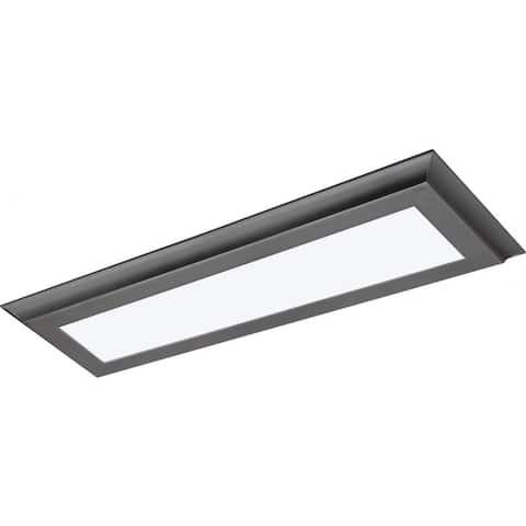 22W LED 7 In. X 25 In. Flush 3K Gm Flat Panel