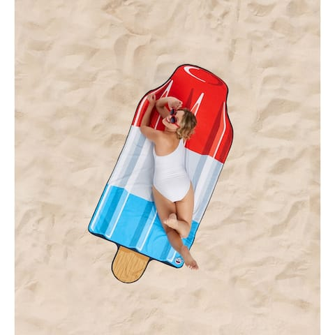 BigMouth Inc. Giant Ice Pop Beach Blanket
