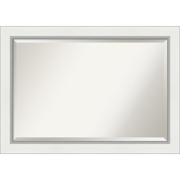 Eva White Bathroom Vanity Wall Mirror