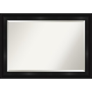 Link to Grand Black Bathroom Vanity Wall Mirror Similar Items in Mirrors