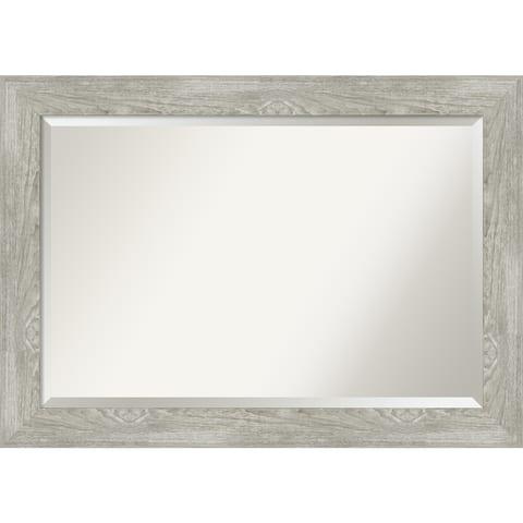 Dove Greywash Bathroom Vanity Wall Mirror