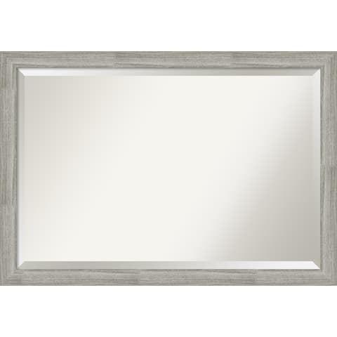 The Gray Barn Greywash Narrow Bathroom Vanity Wall Mirror
