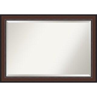 Harvard Walnut Bathroom Vanity Wall Mirror