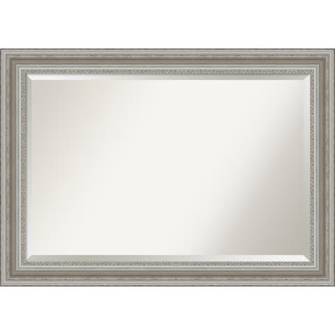 The Gray Barn Parlor Silver Bathroom Vanity Wall Mirror