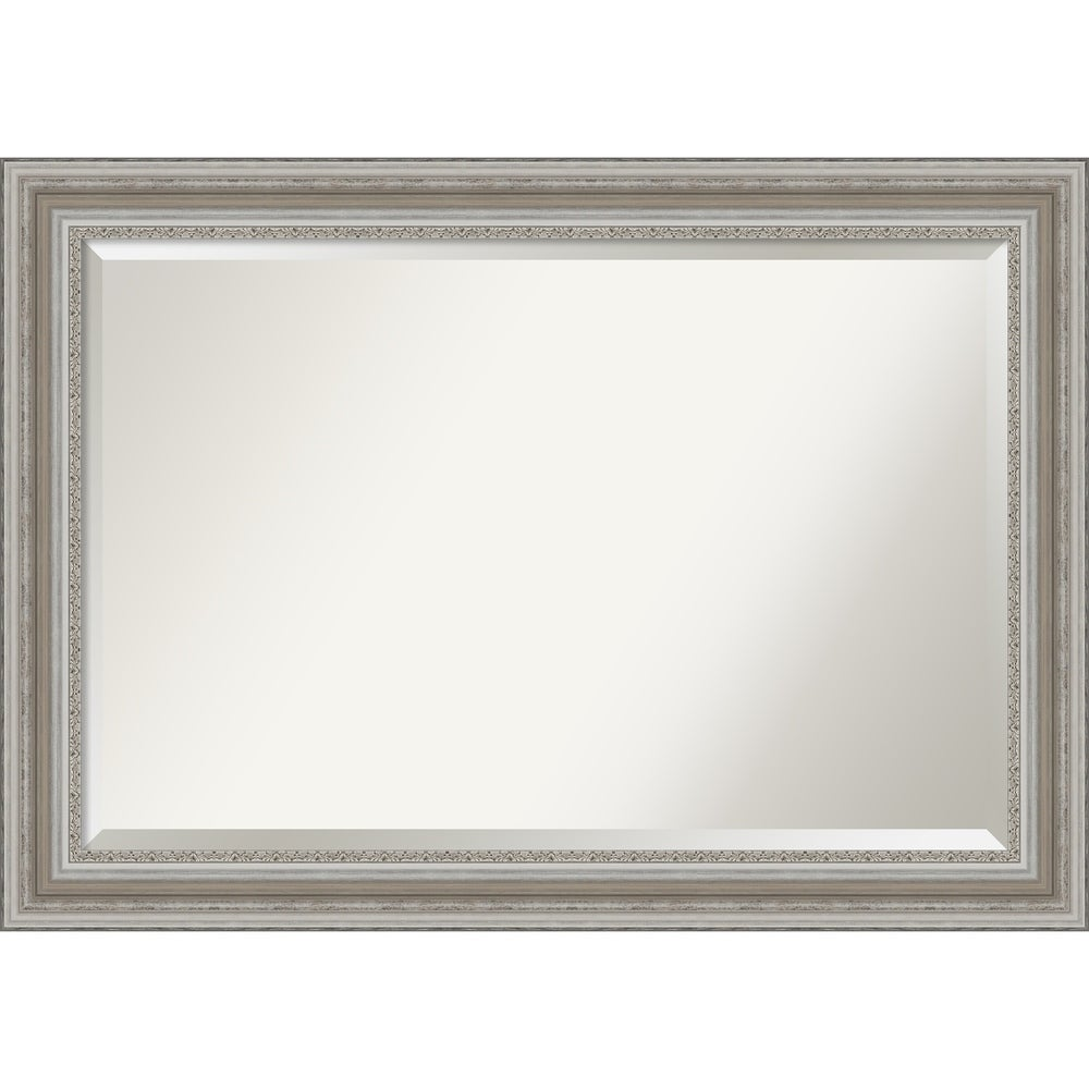 22 inch Elegance Vintage Triple Gold Baroque Style Wall Mirror