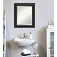 Copper Grove Morsang Bathroom Vanity Wall Mirror with Black Frame