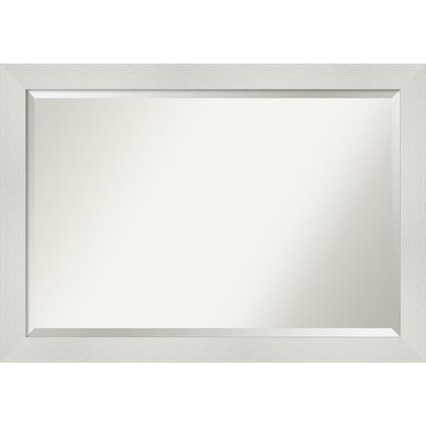 Shop Copper Grove Valette Bathroom Vanity Wall Mirror With White