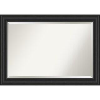 Shipwreck Black Bathroom Vanity Wall Mirror
