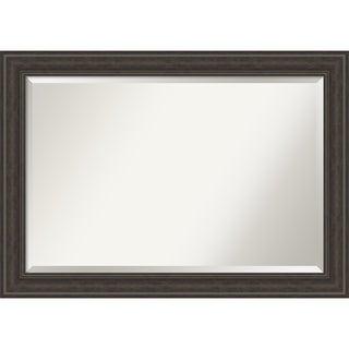 Shipwreck Greywash Bathroom Vanity Wall Mirror