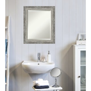 Copper Grove Celle Bathroom Vanity Wall Mirror with Silvertone Frame