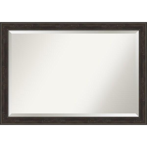 Narrow Bathroom Wall Storage: Shop Shipwreck Greywash Narrow Bathroom Vanity Wall Mirror
