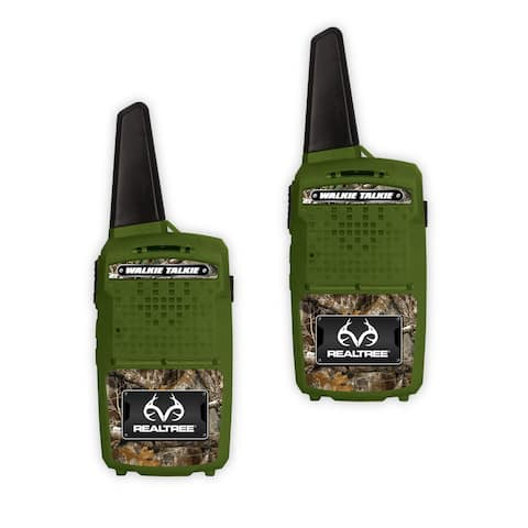 NKOK RealTree 1000-Ft Range Walkie-Talkies Set (Edge-Green)