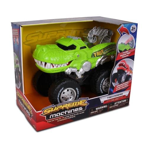 NKOK Supreme Machines T-Rex Chomper - Colors May Vary (Green OR Orange)