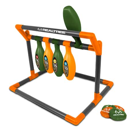 NKOK RealTree Games Pin Toss Game Set