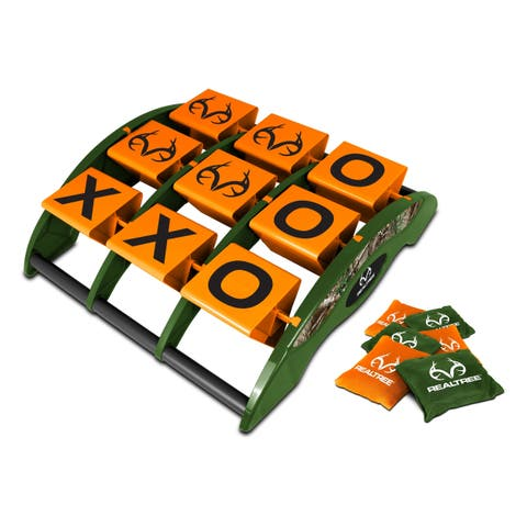 NKOK RealTree Games Tic-Tac-Toss Game Set