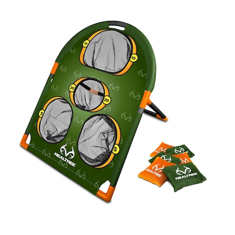 NKOK RealTree Games Bean Bags Toss Game Set